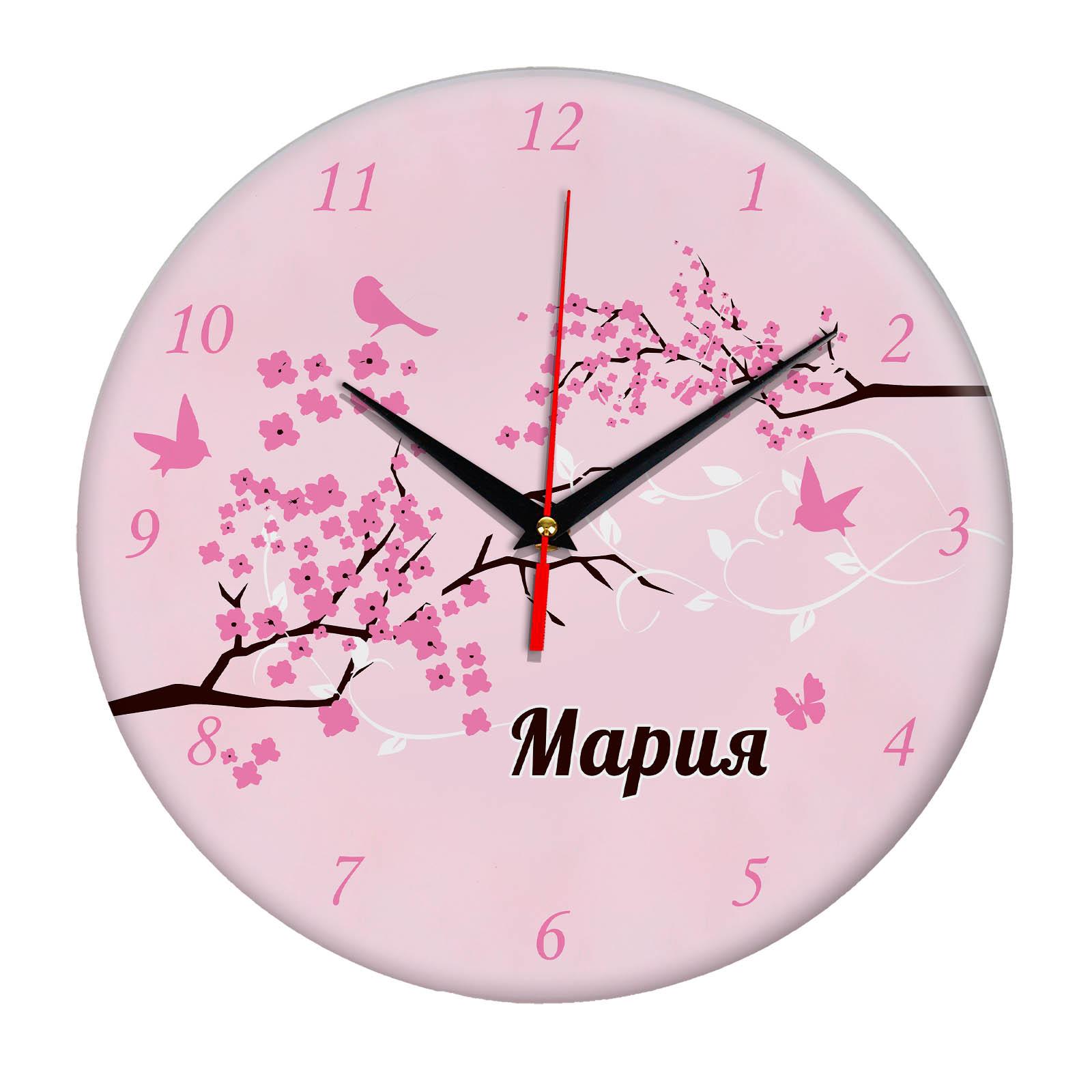 """Часы - именной подарок """"Мария"""""""