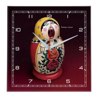 Настенные часы matreshka