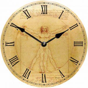 деревянные часы из МДФ mdclr057-d300