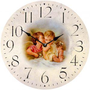 деревянные часы из МДФ mdclr075-d420
