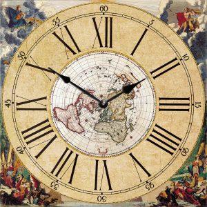 деревянные часы из МДФ mdclr081-d420