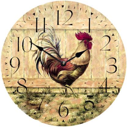 деревянные часы из МДФ mdeco1101-420