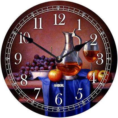 деревянные часы из МДФ mdr1009-d300