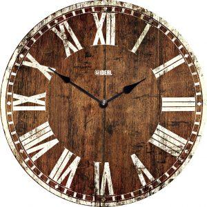 большие деревянные часы из МДФ mdr324-d420