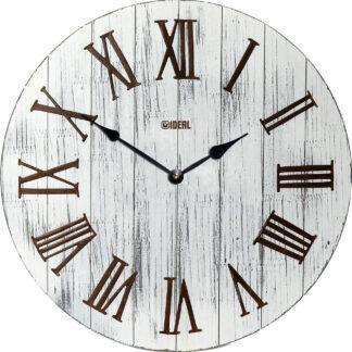 большие деревянные часы из МДФ mdr326-d420