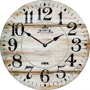 большие деревянные часы из МДФ mdr331-d420
