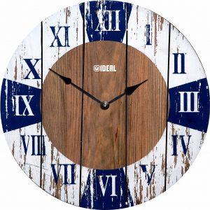 большие деревянные часы из МДФ mdr336-d420