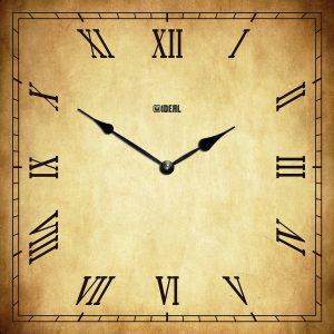большие деревянные часы из МДФ mdr340-d420