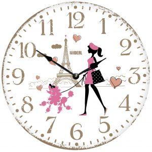 большие деревянные часы из МДФ mdr982-d420