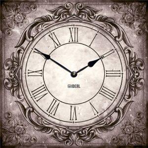 большие деревянные часы из МДФ mdr994-d420