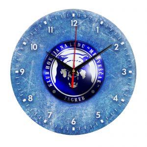 Сувенир – часы Medvescak Zagreb 04