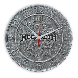 Megadeth настенные часы 1
