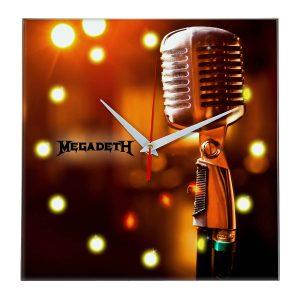 Megadeth настенные часы 11
