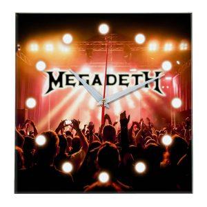 Megadeth настенные часы 13
