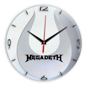 Megadeth настенные часы 14