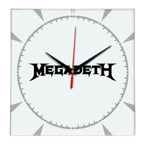 Megadeth настенные часы 2