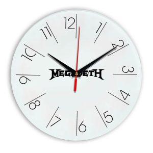 Megadeth настенные часы 6