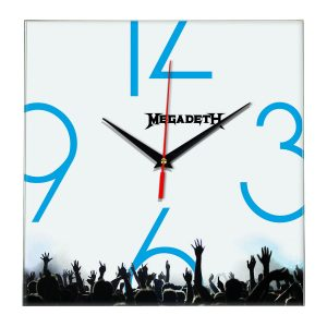 Megadeth настенные часы 8