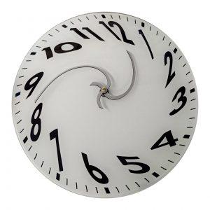 Настенные часы «melting-time-clock»
