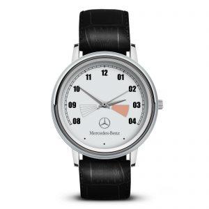 Mercedes Benz 2 часы наручные с эмблемой