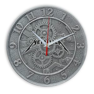 Metallica настенные часы 1