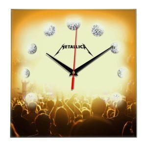 Metallica настенные часы 12