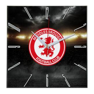Настенные часы «В лучах славы Middlesbrough»