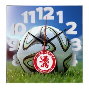 Настенные часы «На стадионе Middlesbrough»