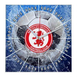 Настенные часы «Сувенир болельщиков Middlesbrough»