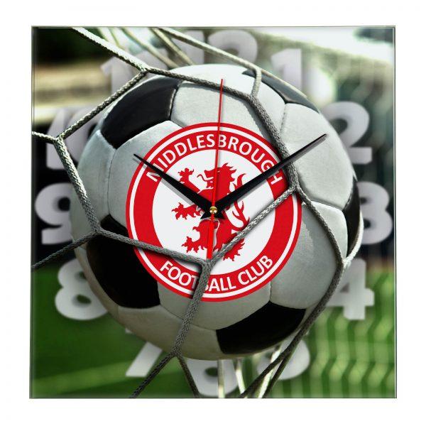 Настенные часы «С логотипом Middlesbrough»