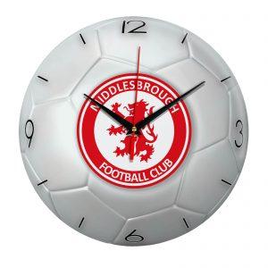 Настенные часы «Футбольный мяч Middlesbrough»