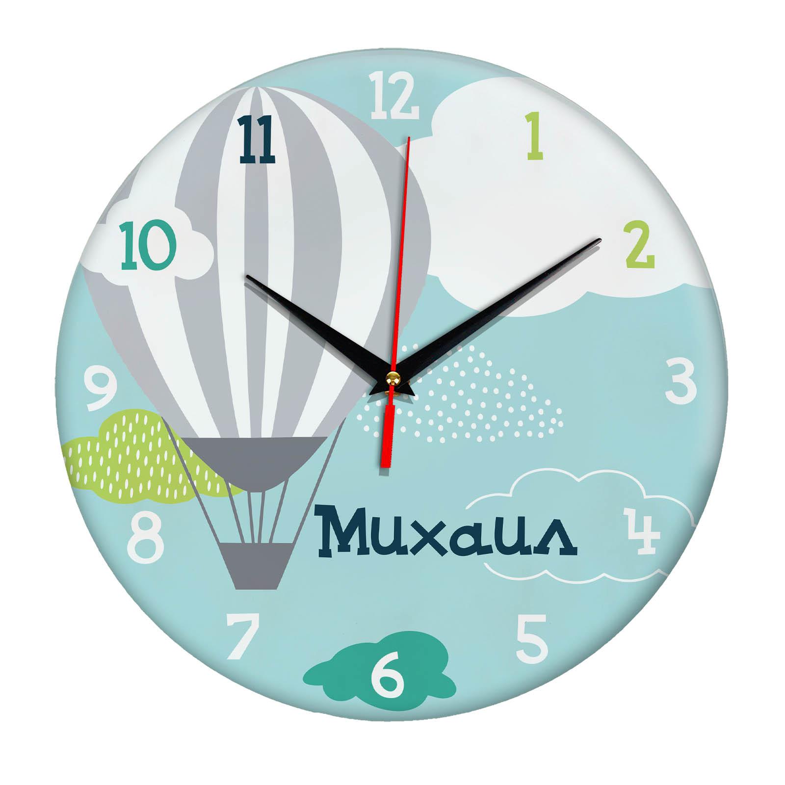 Подарок именной — Настенные часы с именем Михаил