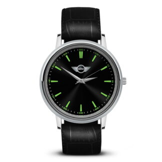 Mini наручные часы с логотипом мужские