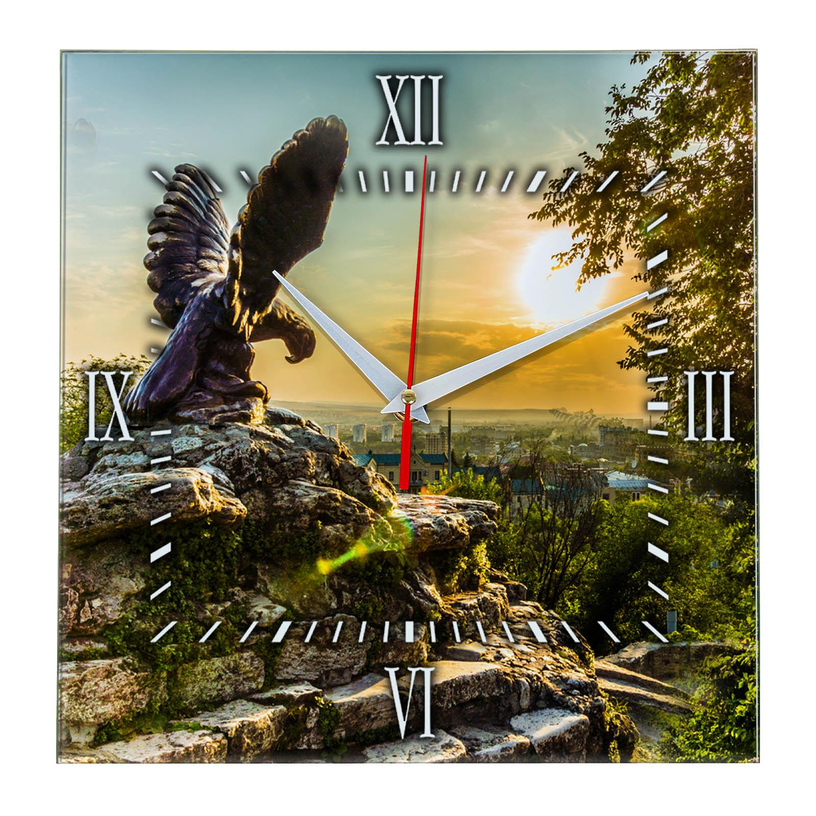 Часы настенные «Пятигорск в закате»