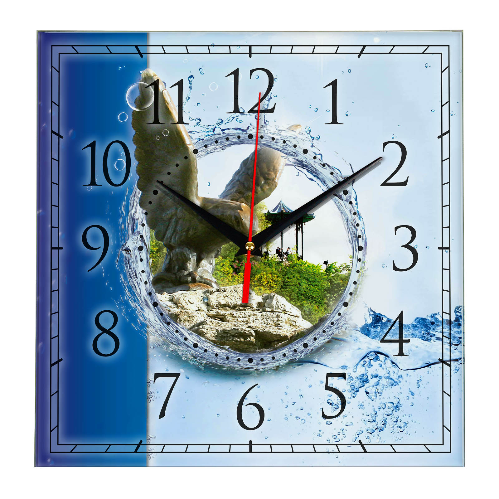 Часы настенные «Пятигорск»