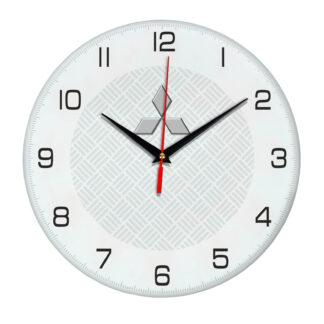 Настенные часы с символикой Mitsubishi 04
