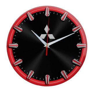 Настенные часы с рисками Mitsubishi 06