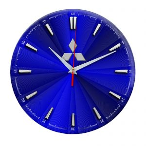 Сувенир – часы Mitsubishi 12