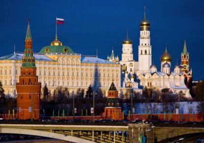 Фото на стекле «Московский кремль»