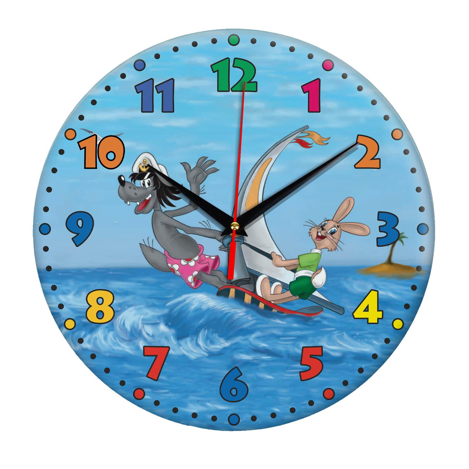 Часы с принтами из мультиков