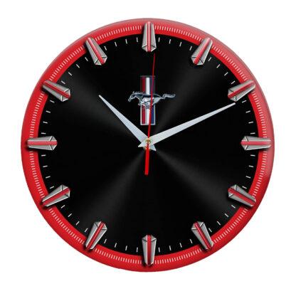 Настенные часы с рисками Mustang 06