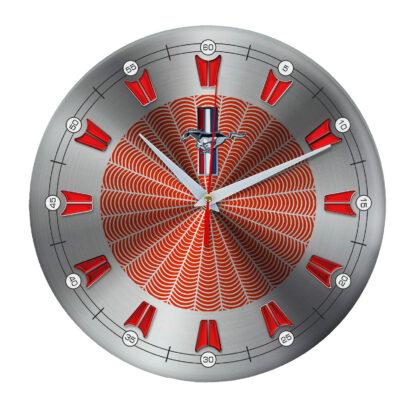 настенные часы с символом Mustang 09