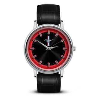 Mustang часы сувенир для автолюбителей