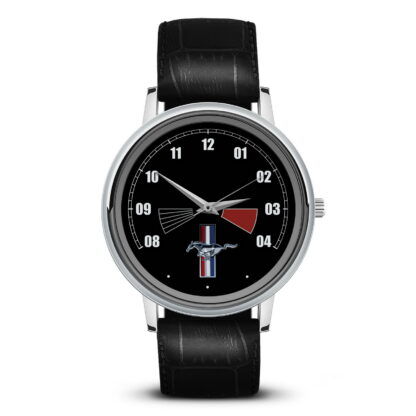 спидометр Mustang наручные часы с символикой
