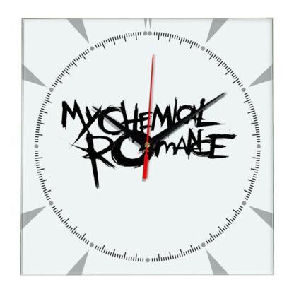 My chemical romance настенные часы 2