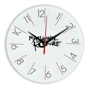 My chemical romance настенные часы 6