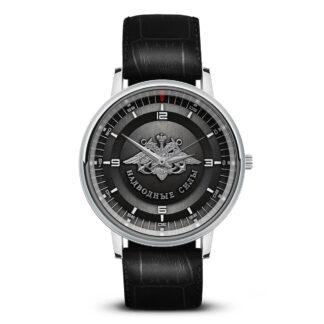 Наручные часы   «nadvodnye-sily-w11-watch-hrom-black»