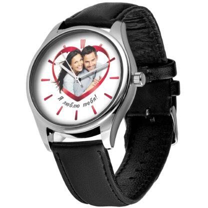 Именные наручные часы 04 серебро