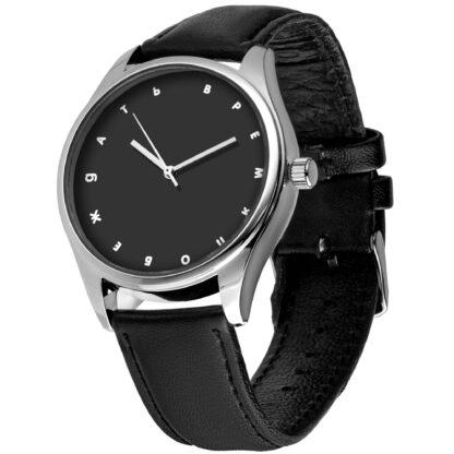Именные наручные часы 05 серебро
