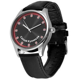 Именные наручные часы 09 серебро